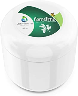 Milkweed Balm for Muscle Tension Relief – Warmup & After-Workout Topical Rub for Soothing Pain, Joints, & Inflammation Inf...