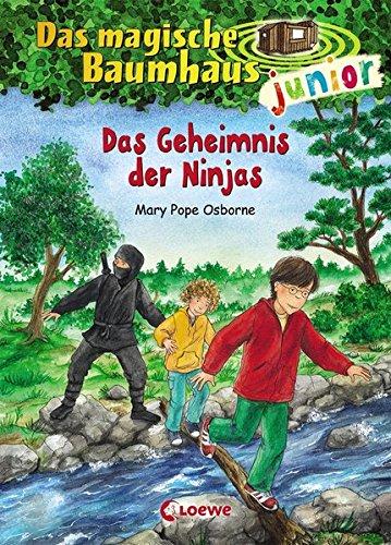 Das magische Baumhaus junior 5 - Das Geheimnis der Ninjas: Kinderbuch zum Vorlesen und ersten Selberlesen - Mit farbigen Illustrationen - Für Mädchen und Jungen ab 6 Jahre
