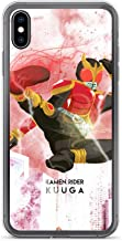 iPhone Xs Max Case Anti-Scratch Motion Picture Transparent Cases Cover Illustration of Kamen Rider Kuuga Inspired Action Movies Video Film Crystal Clear