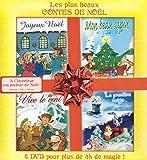 Les Plus beaux contes de Noël : Joyeux Noël + Vive le vent + Mon beau sapin + La première neige + 3 héros pour un cadeau [Francia] [DVD]