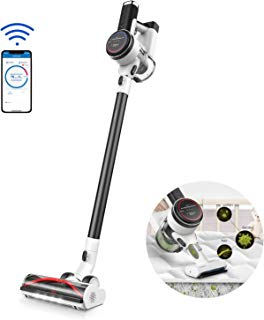 Tineco Pure ONE S12 Cordless Vacuum Cleaner, Stick Smart Vacuum, Smart Suction, Digital Display Screen, 500W Rating Power, App Controls, High Suction Power, Carpet & Hard Floors