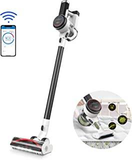 Tineco Cordless Vacuum Cleaner, Pure ONE S12, Smart Stick Vacuum 500W Suction Power Auto-Adjust Suction, Powered Rinse-Free Pre-Filter Cleaning Tool LED Screen Display for Deep Clean Pet Hair Floors
