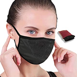 Washable and reusable Mask - Protection against dust throughout the year. Comes with Carry Pouch.