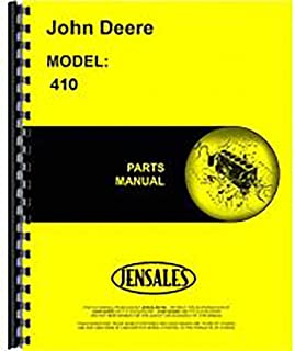 Best john deere 410 backhoe parts manual Reviews