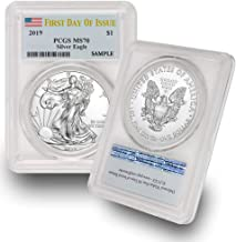 2018 silver eagle ms70 first day of issue