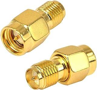 BOOBRIE RF同軸コネクタ RP-SMAオス-SMAオス 変換アダプタ 無線周波数 SMAオスコネクタ オスメス 延長ケーブル 2個セット