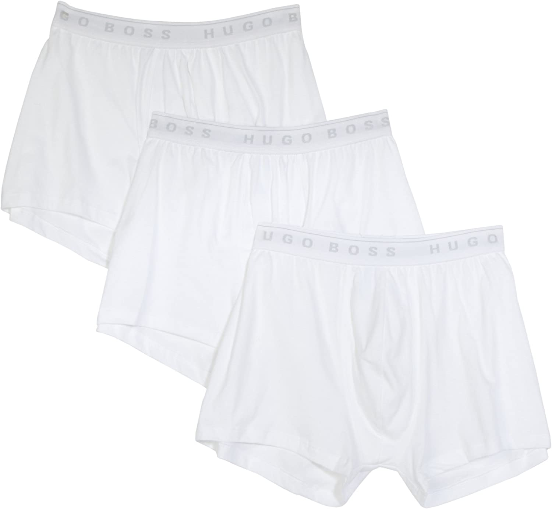 BOSS HUGO BOSS Men's Cotton Boxer Brief Brief 3 Pack