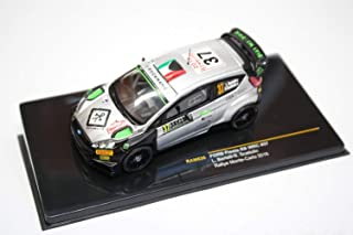 Ford Fiesta RS WRC #37 'FWRT s.r.l.' Rally Monte-Carlo 2016 Year - Subcompact Car - 1/43 Scale Collectible Model Vehicle - L.Bertelli/S.Scattolin