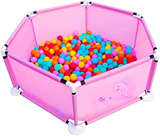 Indoors Baby Playpen Play Yard With 100 Balls  Diameter  5 8 Cm   Child Safety Play Fence