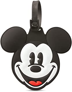 American Tourister Disney Luggage Tag, Mickey Mouse Head, One Size
