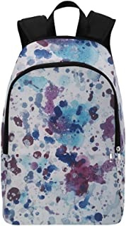WUTMVING Vanguard Abstract Picture Creativity Casual Daypack Travel Bag College School Backpack For Mens And Women
