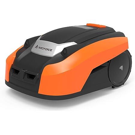YARD FORCE LUV600Ri Robot cortacésped, 28 V, Negro/Naranja