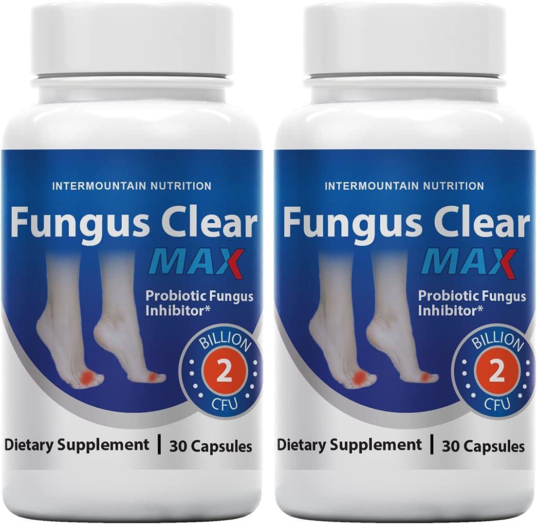 2-Pack Fungus Clear Max 76% OFF Probiotic Toenail 2021 new Treatment Fungu