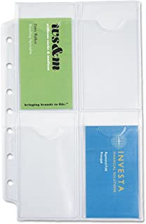 Day-Timer Business Card Holders for Looseleaf Planners