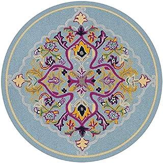 Round Yoga Mat/Meditation Mat/Exercise Mat, Fitness Mat, Non-Slip Carpet, Door Mat, Delicate and Soft - - for Men and Woma...