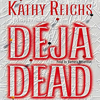 Deja Dead audiobook cover art