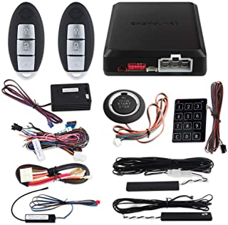 $121 » Sponsored Ad - EASYGUARD EC002-NI-NS FSK Technology Rolling Code Smart Key pke car Security Alarm System with Passive keyl...