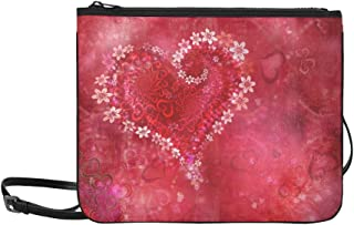Heart Love Romance Love Heart Valentine Pattern Unique Custom Outdoor Shoulders Bag Fabric Backpack Multipurpose Daypacks For Adult