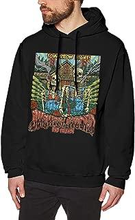 JohnBHaws Slightly Stoopid Comfortable Mans Hooded Sweatshirt Sweater Pullover Hoodie Black