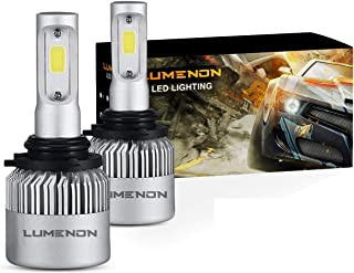 Lumenon LED Headlight Bulbs Conversion Kit 180W 180000LM 6000K Cool White 2 Yr Warranty (9006 HB4)