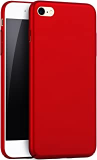 iBarbe iPhone 6 Plus Case, iPhone 6s Plus Case, Shock Absorption Scratch Resistant Bumper slim Hard Plastic Cover Case for iPhone 6 Plus (2014)/iPhone 6s Plus (2015) - Red