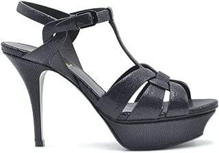 SAINT LAURENT Luxury Fashion Womens 5353150Z8004148 Blue Sandals   Fall Winter 19