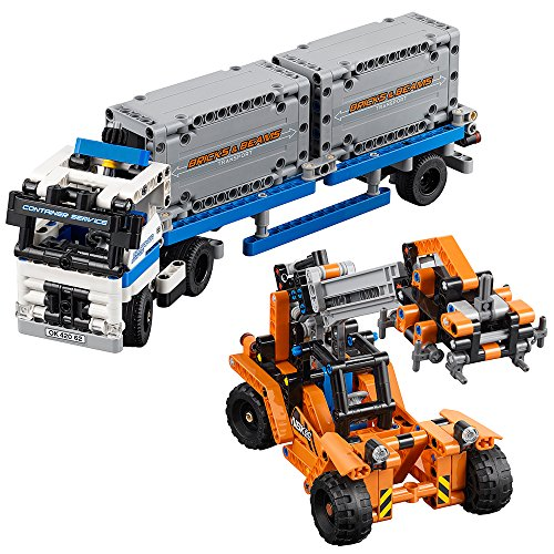 LEGO Technic Container Yard...