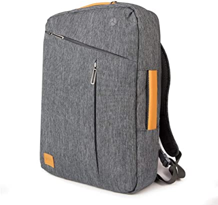 WIWU 15.6 Inch Laptop Briefcase Backpack Waterproof Convertible Multi-Functional 3 in 1 Laptop Single-Shoulder Backpack for Men Women Business Travel Satchel School Bag-Gray (Grey)