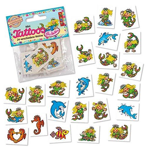 Lutz Mauder Lutz Mauder47311 Mini de sirène de Tatouage Set (Taille Unique, 24 pièces)
