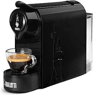 Bialetti Gioia, Espressomachine voor capsules van aluminium, systeem Bialetti la Caffè d'Italia, supercompact, zwart