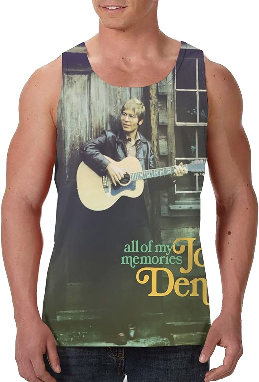 John Denver All of My Memories Tank Top T Shirt Boys Summer Fashion O Neck Tops Sports Sleeveless Vest