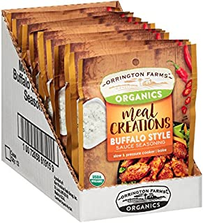 Orrington Farms Organic Meal Creations Seasoning, Buffalo Style Sauce (12 Count)