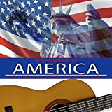 Música Ambiental de América. Música Americana de Fondo Con Guitarra Flamenca