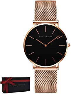 Best rose gold watch band Reviews