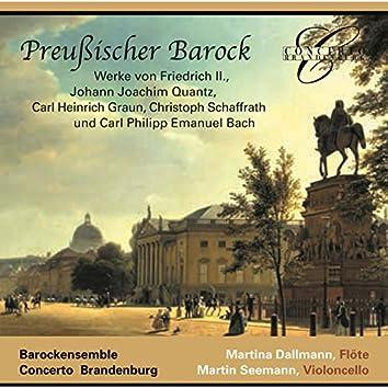 Frederick II, Quantz, Graun, Schaffrath & C.P.E. Bach: Prussian Baroque