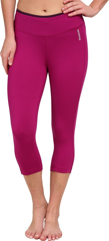 Reebok Damen Essentials capri Hosen Black Small Leggings Sport Fitness