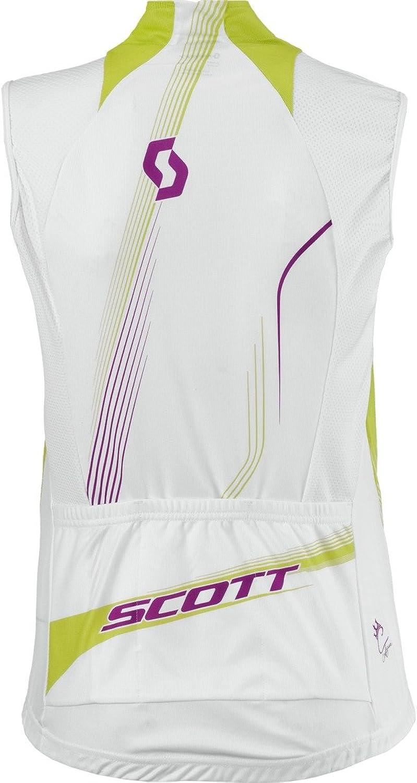Scott Bikewear Womens Rc W o Sleeveless Cycling Jersey Full Zip Shirt 221597300100