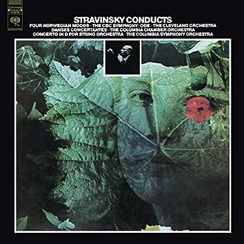 Stravinsky: Danses concertantes, 4 Norwegian Moods, Ode & Concerto in D