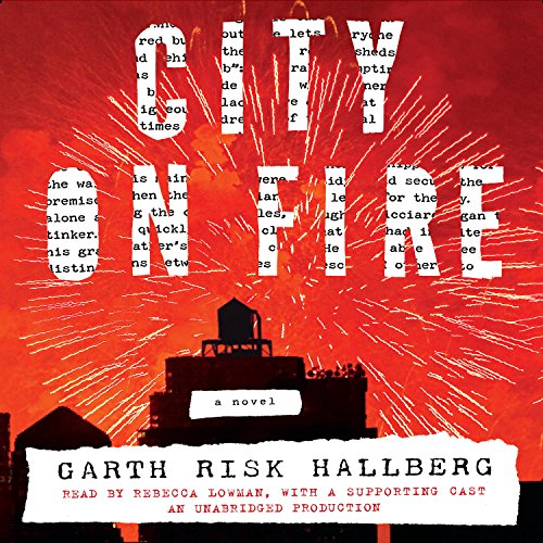 City on Fire audiobook cover art