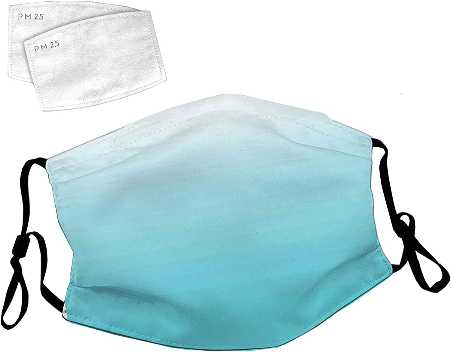 Reusable Face Mask with Adjustable Maldives Seali Deep Max 72% OFF Year-end annual account Ear Loops