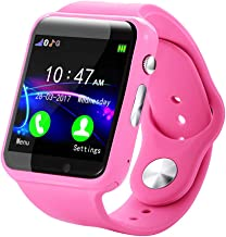 Bravetoshop Kids Smart Watch for Boys and Girls Children GPS Touch Phone Waterproof Fitness Watch with Touch Screen Anti-Lost SOS Call Smartwatch