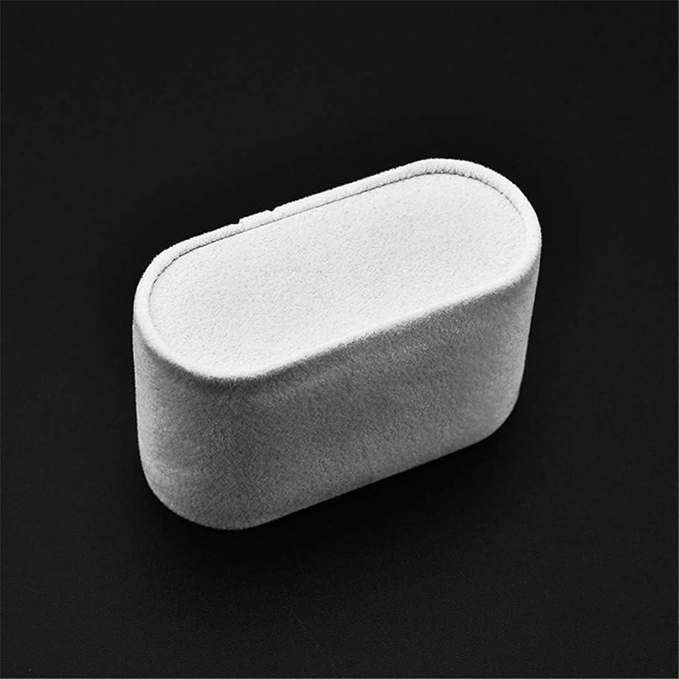Black White Suede Watch Cushions Watch Pillow For Case Storage Box Wrist Watch Bracelet Display St Holder Organizer White fqhoepwl2361