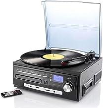 auvisio Schallplatten Anlage: Kompakt-Stereoanlage MHX-550.LP für Schallplatte, CD, MC,..