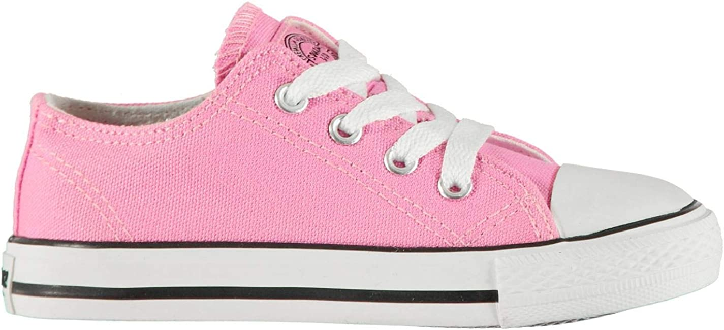 SoulCal Kids Canvas Shoes Low Baby Lace Up Sneakers Trainers
