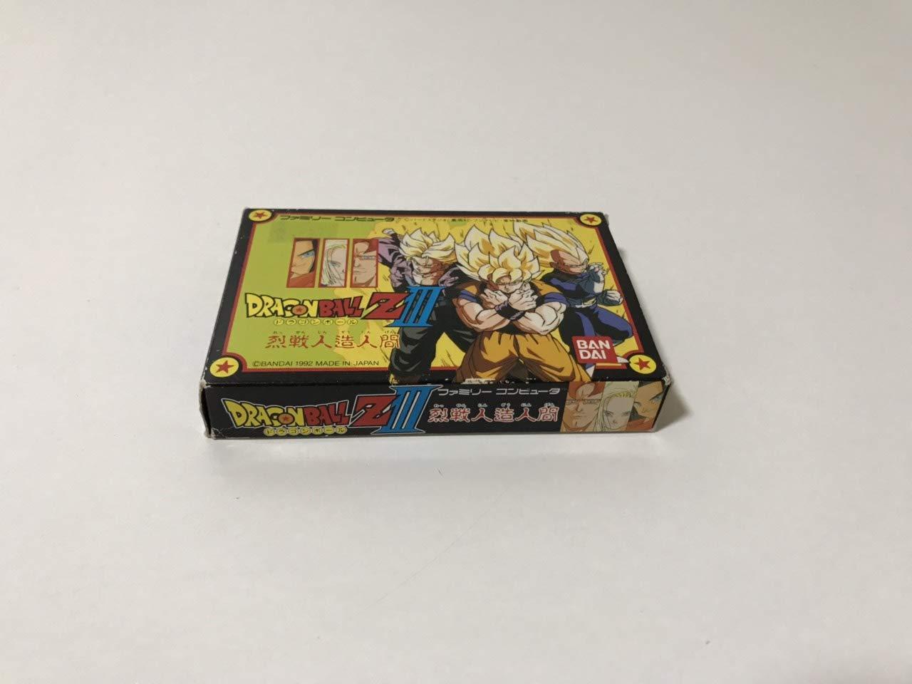 Dragon Ball Z III favorite Special sale item Ressen Japanese Import Famicom Ningen Jinzou