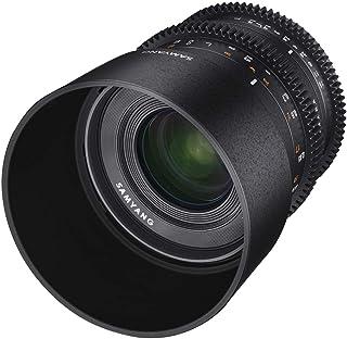 Samyang T1.3 VCSC 35 mm Manual Focus Video Lens for Sony E - Black