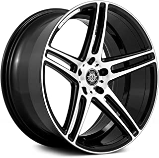 Curva Concept Wheels C5: 20x9.0, 5x114.3, 73.1, 35, (Black/MF)