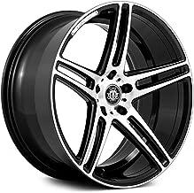 Curva Concept Wheels C5: 20x10.5, 5x114.3, 73.1, 25, (Black/MF)