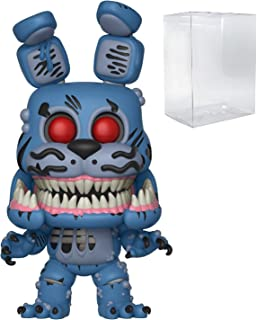 Funko Pop! Books: Five Nights at Freddy's The Twisted Ones - Twisted Bonnie Vinyl Figure (Bundled with Pop Box Protector C...
