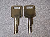 Weather Guard WEATHERGUARD Tool Box Keys Cut to Code K001 Through K100 and K750 Through K799